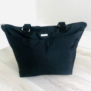 👜 NWOT Baggallini Black Tote Bag